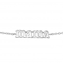 Mama bracelet - real silver