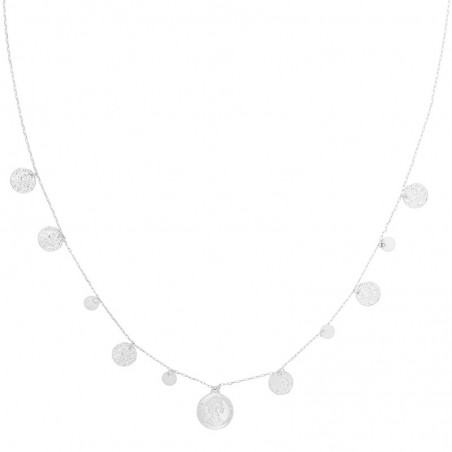 Ketting royal coins - zilver